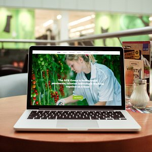 New website for APS Salads