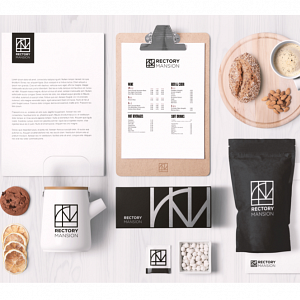 Brand identity for Rectory Mansion