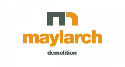 Maylarch demolition logo