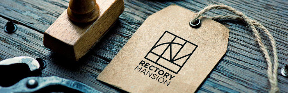 Rectory Mansion - Brand revitalisation - Exterior signage - Website design - Printing - Promotional materials - Stationery
